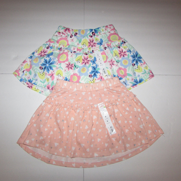 Jumping Beans Skirt Size 3t Floral Ruffle Tiered Toddler New Baby & Toddler Clothing